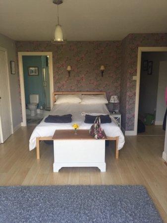 Otterburn, UK: downstairs bedroom
