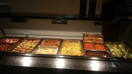 Bowen, Australia: The best workmans buffet breakfast in town.