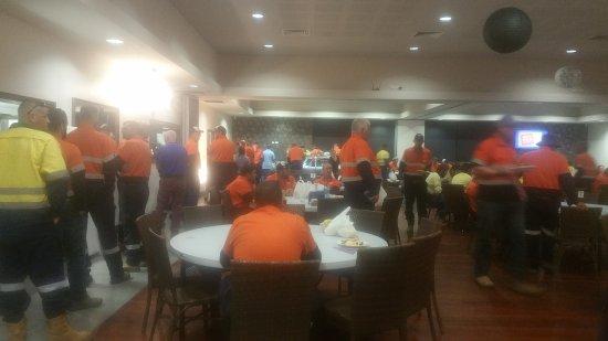 Bowen, Australia: The best workmans buffet breakfast in town.