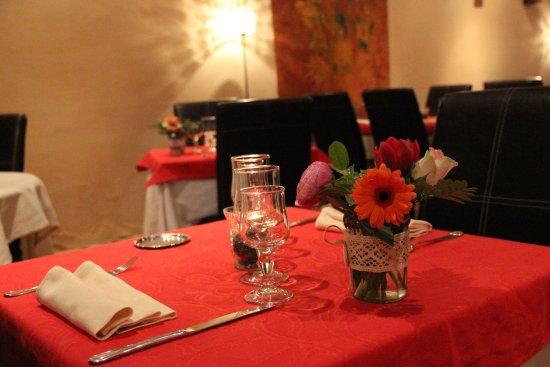 Beaumes-de-Venise, Francia: salle de restaurant