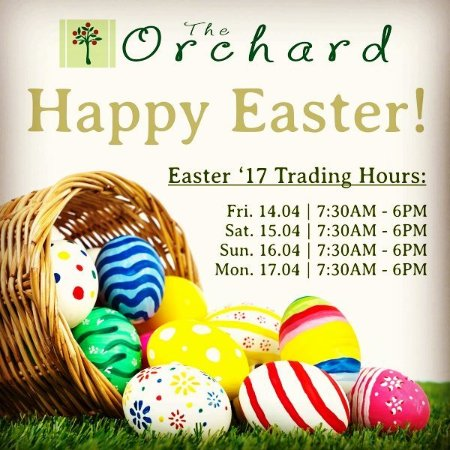 Grabouw, แอฟริกาใต้: The Orchard Farm Stall - Easter 2017