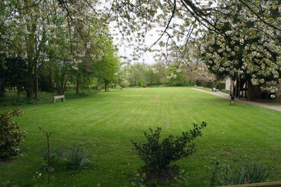 Coalville, UK: Main lawn