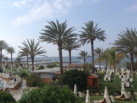 Constantinou Bros Athena Beach Hotel: View from the balcony
