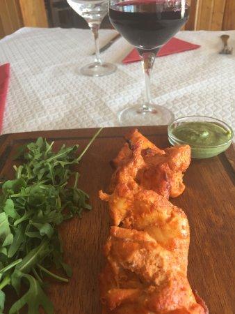 Boliqueime, Portugal: Chicken tikka
