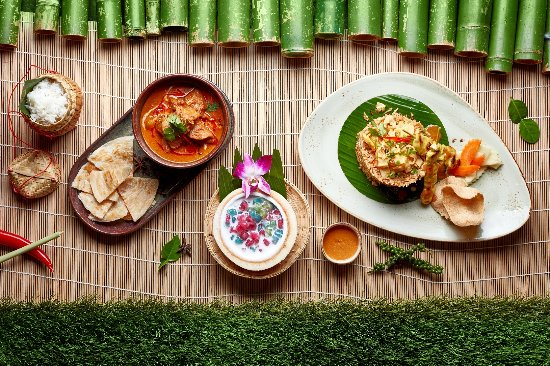 Bambooda Restaurant : Selection of dishes.