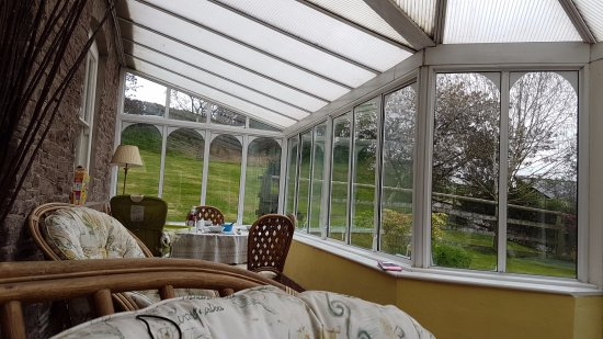 Brecon, UK: Cosy Conservatory