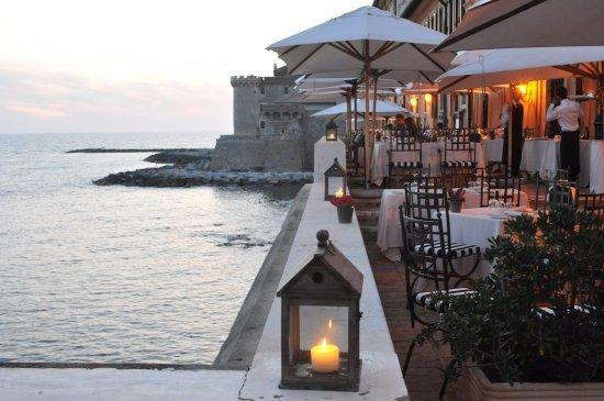 Palo Laziale, Italien: The Cesar Restaurant, Terrace Sea View 2