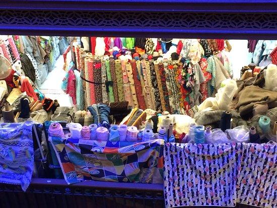 Western Market: textiles