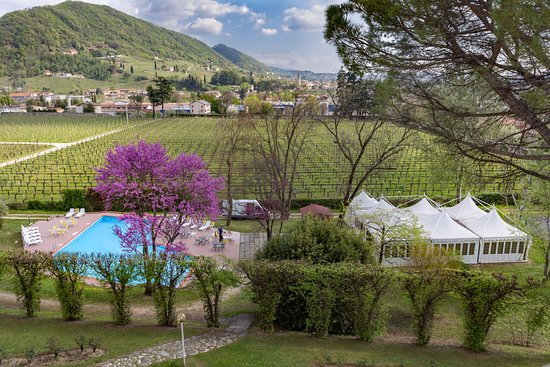 Soligo, Italy: Vista Piscina