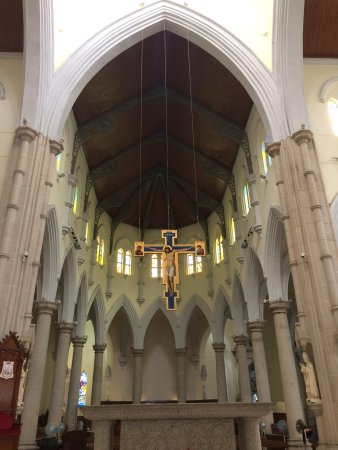 The Hong Kong Catholic Cathedral of The Immaculate Conception : main altar