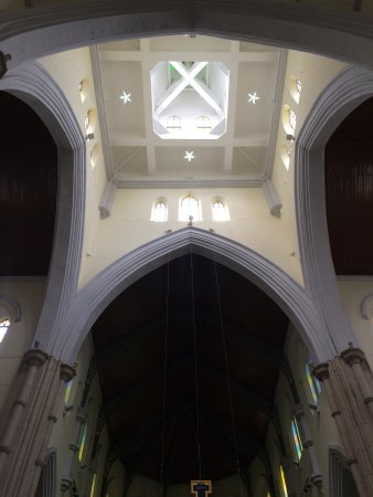 The Hong Kong Catholic Cathedral of The Immaculate Conception : over the altar