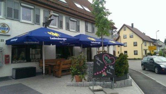 Alfdorf, Alemania: Terrasse