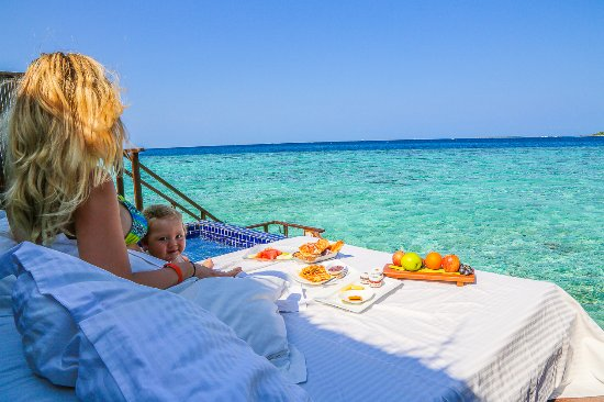 Adaaran Prestige Vadoo: Our bungalow breakfast