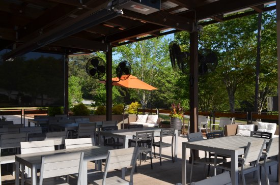 Peachtree City, Τζόρτζια: Our patio