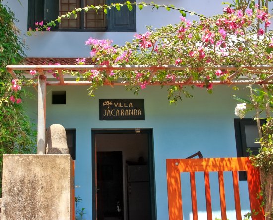 Villa Jacaranda: Indgang til B&B