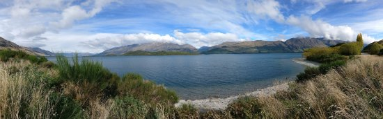 View from the Glenorchy Queenstown Road