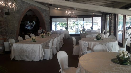 Tenuta Sant Andrea: sala da pranzo