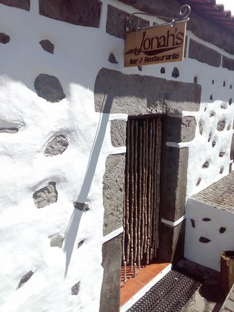 Faja Grande, Portekiz: Entrada principal do restaurante