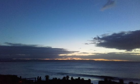 Jeffreys Bay, South Africa: Sunrise from room 7