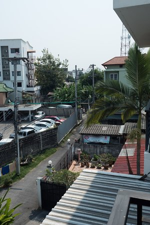 Studio 99 Serviced Apartments: View from a second floor apartment
