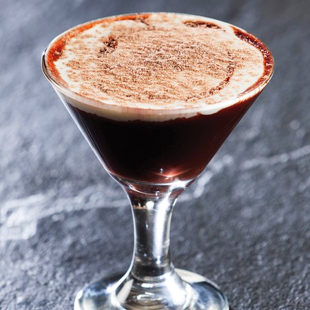 Kloof, Sydafrika: Chocolate Vodka Martini