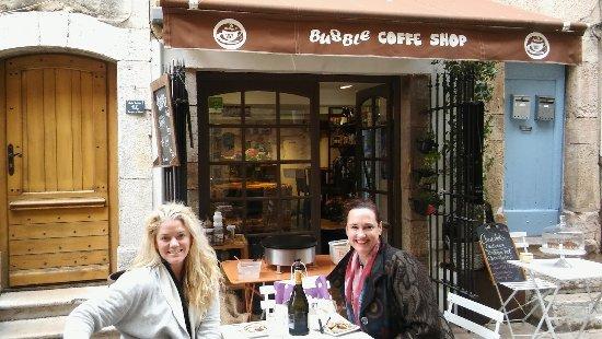 Valbonne, France: Clientes sympa venu des USA