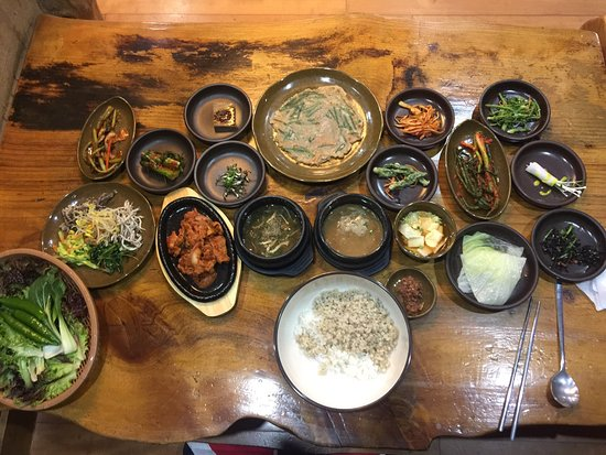 Icheon, Sydkorea: 보히밥정식 과 내부
