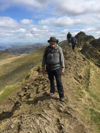 Cockermouth, UK: Striding Edge, not for the faint hearted but wow!