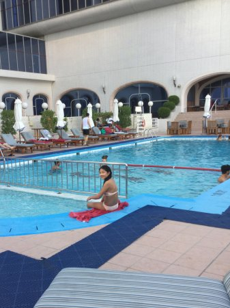 Hotel Pool Picture Of Crowne Plaza Dubai Dubai Tripadvisor