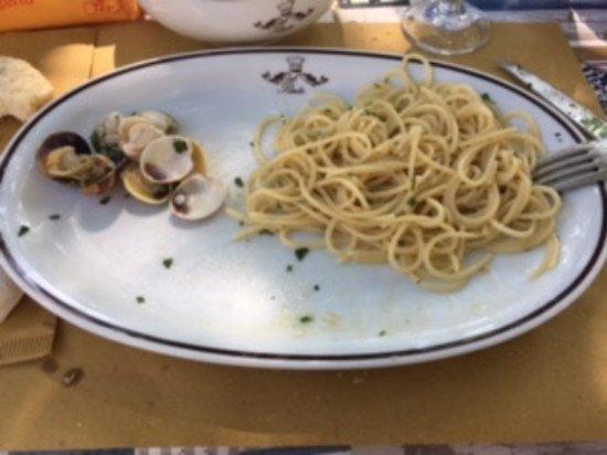 San Canzian d'Isonzo, Italie : queste sono le vongole che erano nel mio piatto...