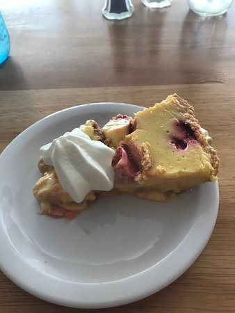 Starke, Floryda: Strawberry key lime pie