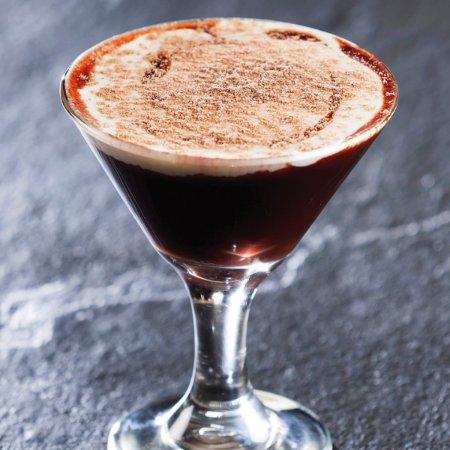 The Hussar Grill Stellenbosch : Chocolate Vodka Martini