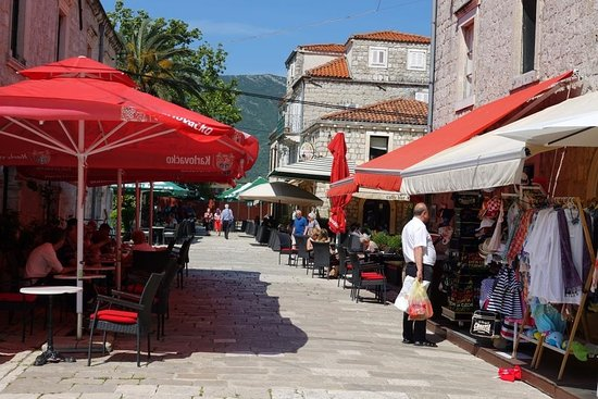 Ston, Croatia: Street stalls
