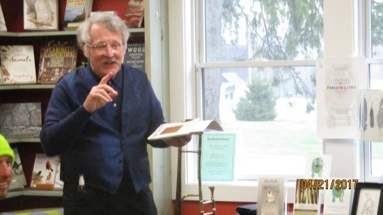 Westport, MA: Powers reads from his new Parodies Lost