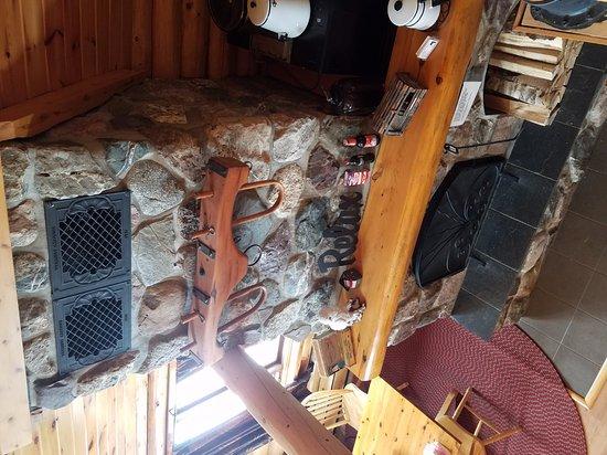 Madawaska, ME: fireplace