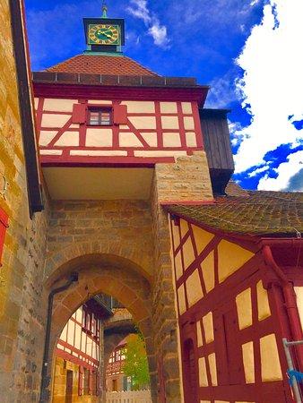 Cadolzburg, Germany: Torbau