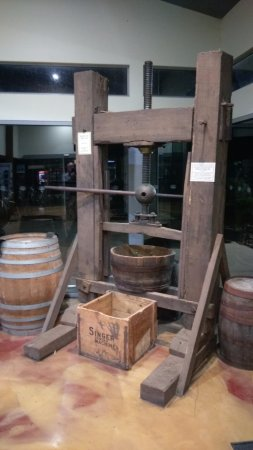 Swansea, Australien: Vintage cider press