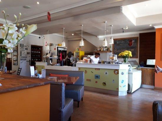 Grahamstown, Afrika Selatan: spacious interior