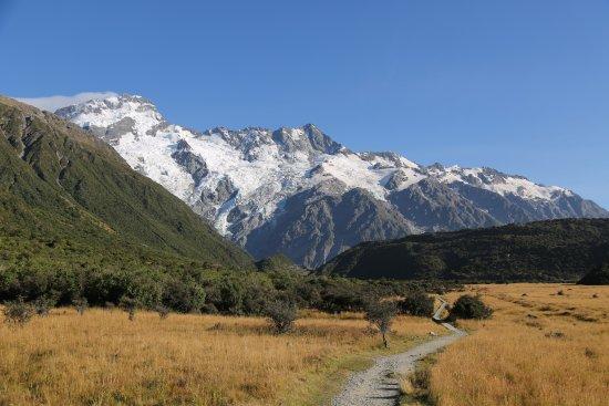 Aoraki Mount Cook National Park (Te Wahipounamu), نيوزيلندا: Along the trail