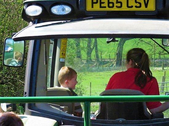 Bolton, UK: tractor ride
