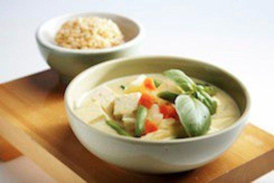 Saugerties, Estado de Nueva York: New World Classic Thai Green Curry Tofu