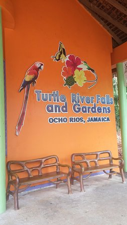 Saint Ann Parish, Jamaica: Entrance to the property