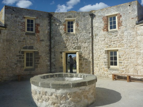 The Fremantle Round House: Interior of the Fremantle Roundhouse.
