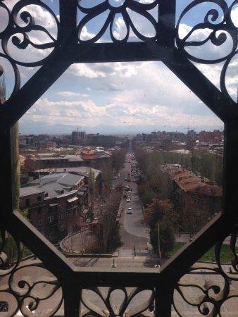 Matenadaran - The Museum of Ancient Manuscripts: View from window