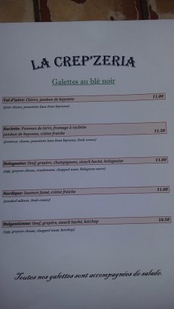 Beaugency, France : Galettes