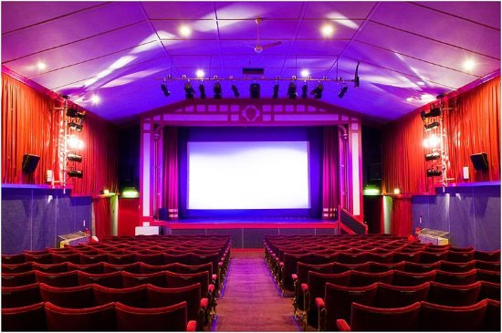 Leiston Film Theatre's Auditorium