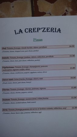 Beaugency, France : Pizzas