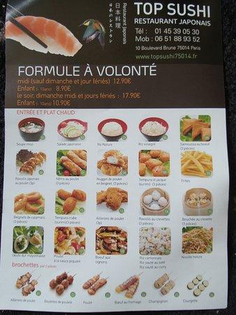 restaurant japonais a volonte