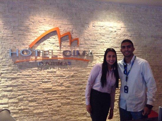 Hotel Cima: Lobby