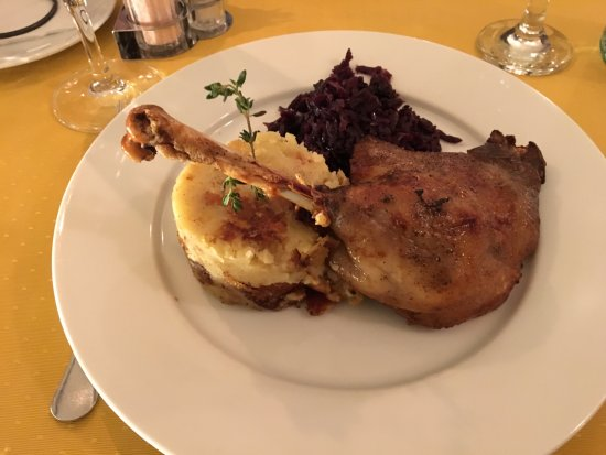 Spinoza Cafe: goose leg